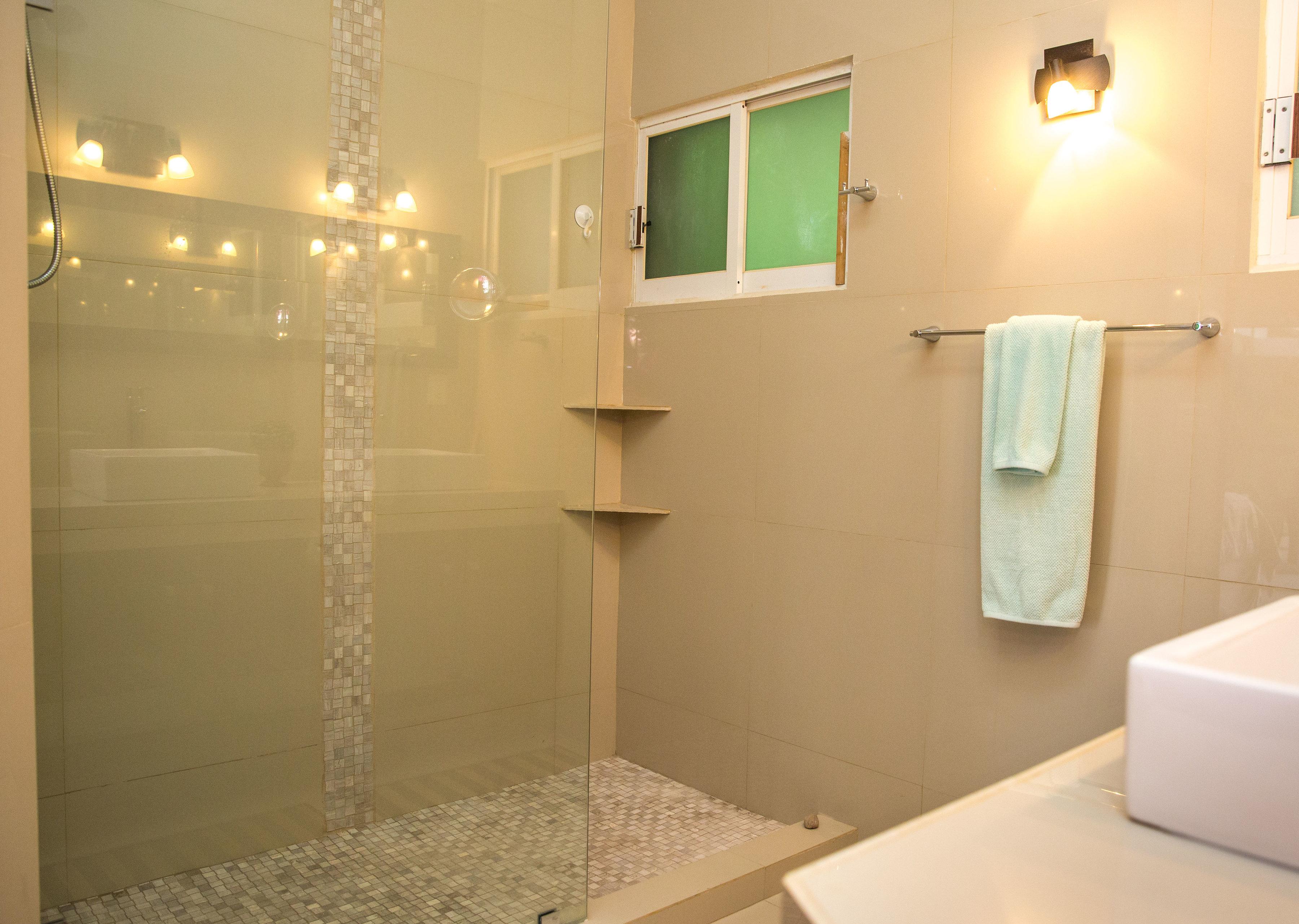 Large shower Master Bedroom